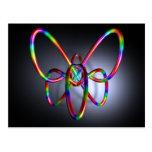 3D composición #20: Mariposa Postales