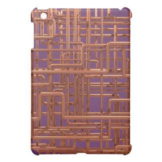 3d Copper Piping - Background Editable iPad Mini Cover