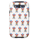 3d Crazy Clown Samsung Galaxy S3 Cover