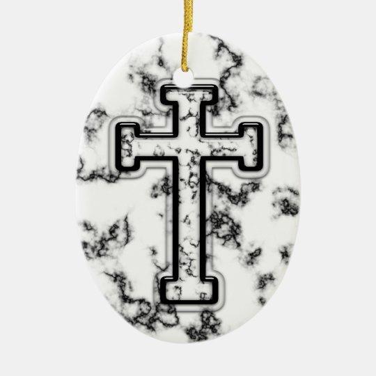 3D Cross Ornament