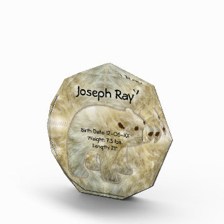 ♥ 3D Crystal-Clear Acrylic Ice Block Acrylic Award
