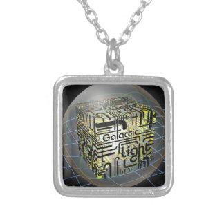 3D Cube Galactic Light Jewelry