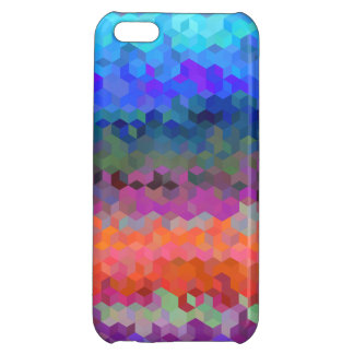 3D cube pattern Cover For iPhone 5C