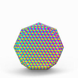 3D Cubes Grid Award