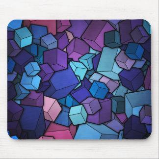 3D Cubes Mouse Pad