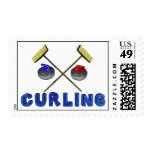 3D Curling Stamps