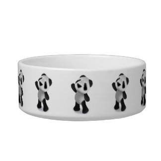 3d Cute Baby Panda Reaches for some Sweets! Bowl