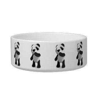 3d Cute Baby Panda Thinking Bowl