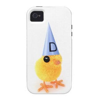 3d Cute Dumb Chick iPhone 4/4S Case