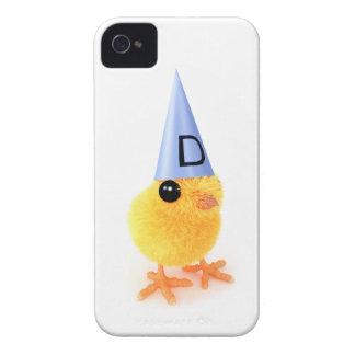 3d Cute Dumb Chick iPhone 4 Covers
