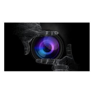 3D da la tarjeta de visita de la fotografía del