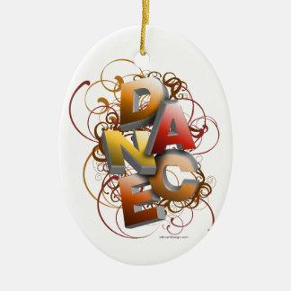 3D Dance Fall Ornaments