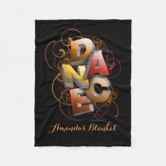 3D Dance (Fall | Personalized) Fleece Blanket