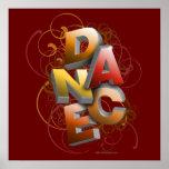 3D Dance (Fall) Poster