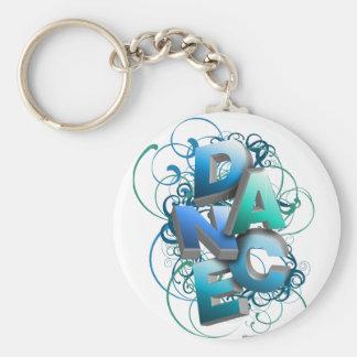 3D Dance (Spring) Basic Round Button Keychain