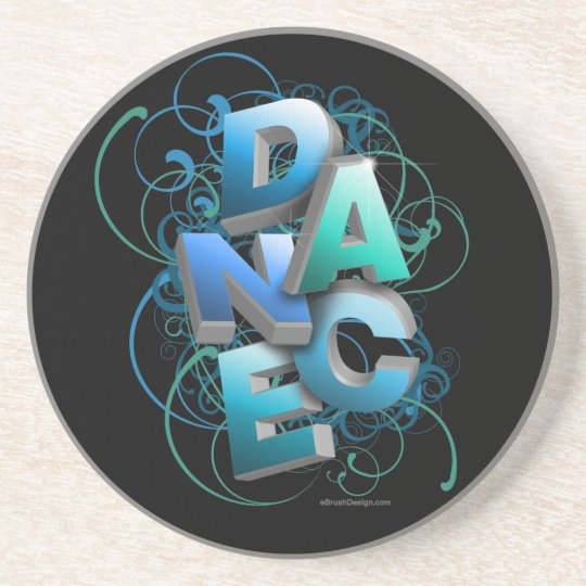 3D Dance (Spring) Coaster