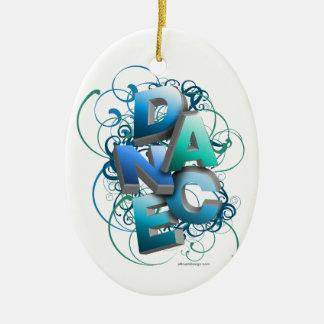 3D Dance Spring Christmas Ornament