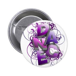 3D Dance (Summer) Pinback Button