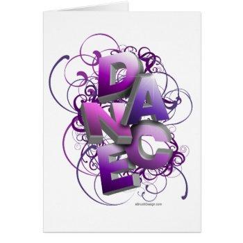 3d Dance (summer) Card by eBrushDesign at Zazzle