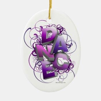 3d Dance (summer) Ceramic Ornament by eBrushDesign at Zazzle