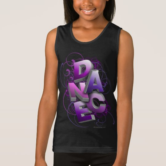 3D Dance (Summer) Tank Top