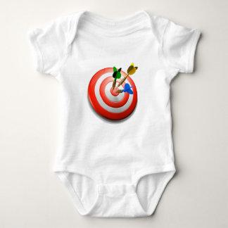 3D Darts BullsEYE Baby Tee Shirt