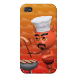 3d-devil-bbq iPhone 4/4S cover