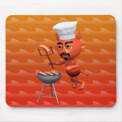 3d-devil-bbq mouse pad