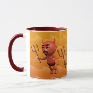3d Devil Flying Mug
