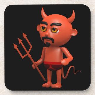 3d Devil Pants Coaster