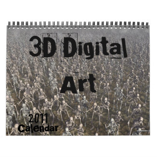 3D Digital Art Calendar