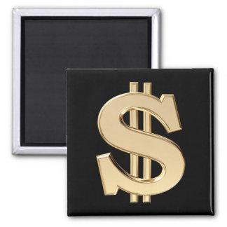 3D dollar sign Magnet