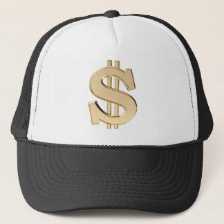 3D dollar sign Trucker Hat