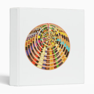 3D Dome - Basket Weave Graphics Binder