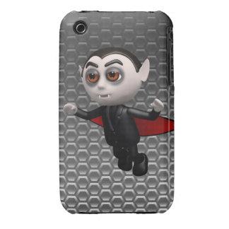 3d Dracula Flies Tonight! iPhone 3 Cover