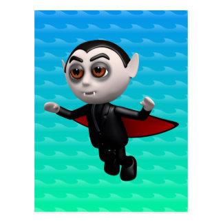 3d Dracula Flies Tonight! Postcard