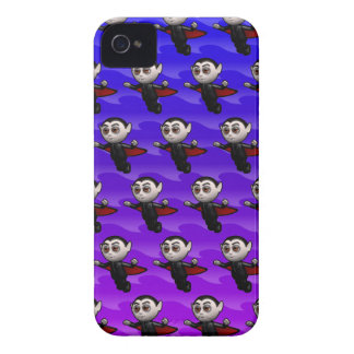 3d dracula flying with editable background iPhone 4 Case-Mate case