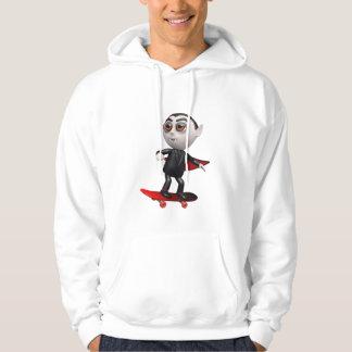 3d dracula skateboard (Any Color U Like!) Hoodie