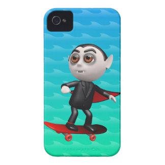 3d dracula skateboard (Any Color U Like!) iPhone 4 Case-Mate Case