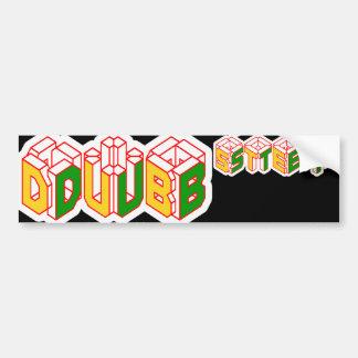 3D Dubstep shirt Bumper Sticker