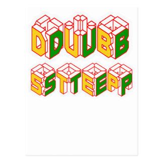3D Dubstep shirt Postcard