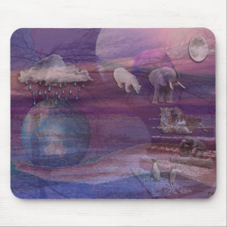 3D EARTH DAY MOUSE PAD