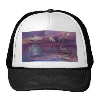 3D EARTH DAY TRUCKER HAT