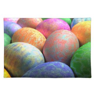 3D Easter Eggs Place Mats