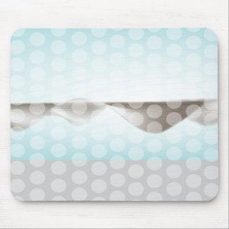 3d effect blue mousepads