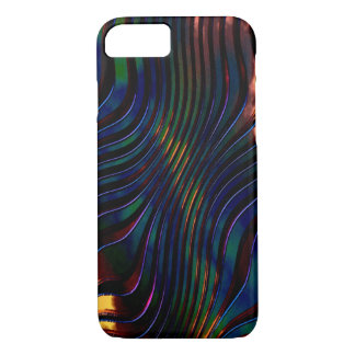 3D Effect in Blue iPhone case