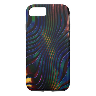 3D Effect in Blue style iPhone cases