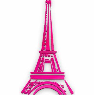 3d Eiffel tower, France clipart Cutout