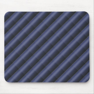3D Elegant ROYALblue Stripe Pattern Mouse Pad