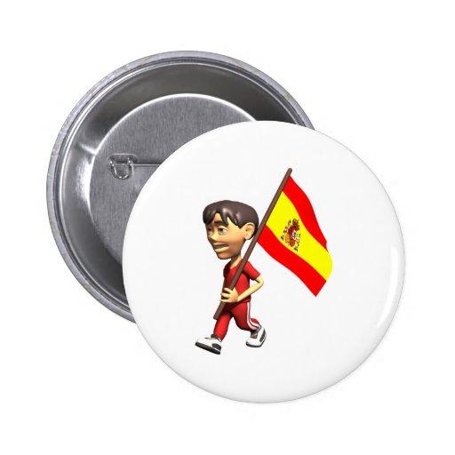 3D España Pin